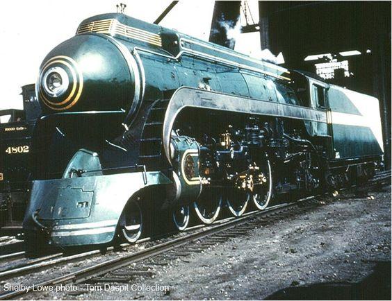 Southern 1380 Streamlined Steamer