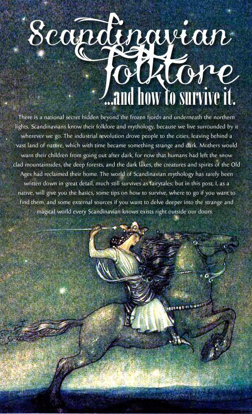 Musings Of My Witchy Mind Wintherharlekin Scandinavian Folklore Special Norse Mythology Norse Myth Mythology