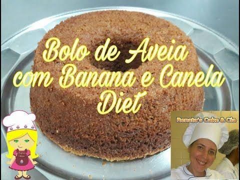 Receitasdiet Youtube Com Imagens Aveia Com Banana Bolo De