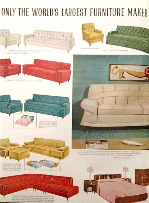 Kroehler Furniture 1959 Mid Century Decor Mid Century Modern