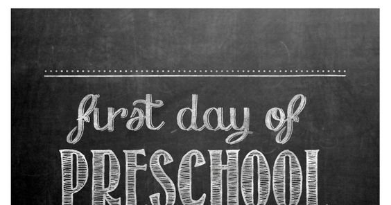first day of preschool.pdf