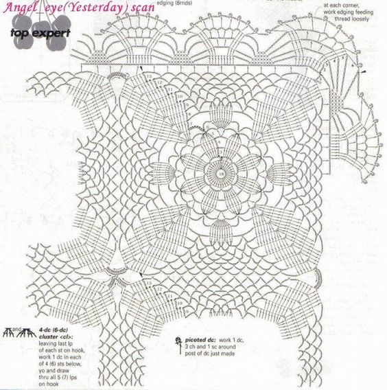 ARTE EXPERTO CROCHET- COLCHAS CROCHET - Daniela Muchut - Picasa Web Album