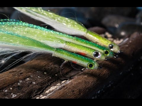 Fly Tying Surf Candy Baitfish Craft Fur Seabass Striper Seatrout