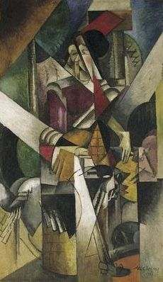 Madame Duchamp-Villon, par Albert Gleizes