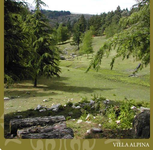La Mesilla Villa Alpina. Valle de Calamuchita. Punto de partida ...