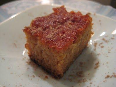 The Almond Flower: Cardamom Cake