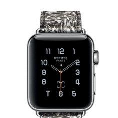 Noël : une Apple Watch Hermès aux couleurs des carrés de soie Equateur Tatouage
