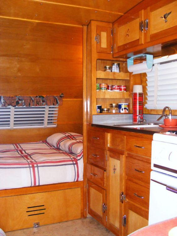 1953 Boles Aero Monterey Vintage Trailer Beautiful The Old And