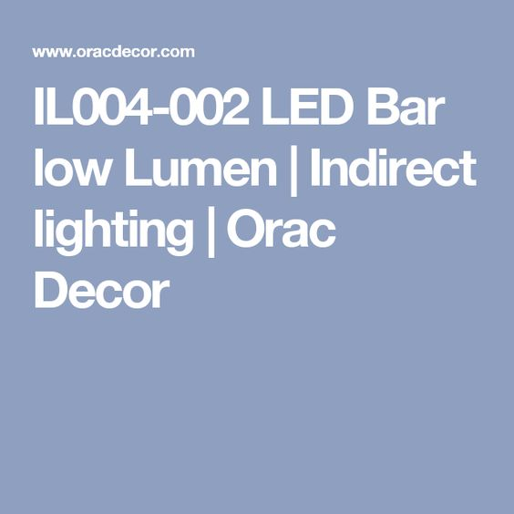 il004 002 led bar low lumen indirect lighting orac decor c351 boat lighting trough
