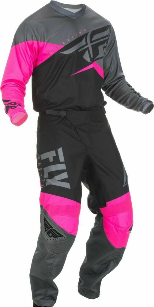 Fly 2018 Lite Hydrogen MX Motocross Enduro Off Road Pants Trouser Pink//Black