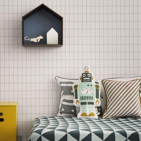 ferm LIVING wall paper http://www.iconist.de/tapete-grid?wt_mc=P