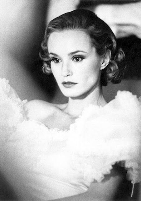 """Much nominated, stage and screen actress, Jessica Lange. (Like Fay Wray 50 years earlier, she gained broad recognition as the 'love interest' in the movie """"King Kong"""")"""