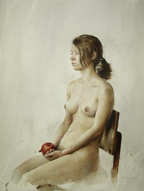 Atanas Matsoureff | 2005 nude 52.5x69