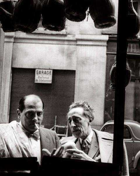 Luis Buñuel + Jean Cocteau, Cannes, 1967.:
