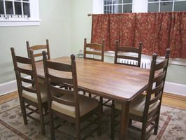 how to refinish a dining room table stains table and