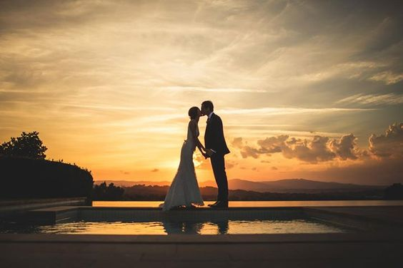 Sunset in Spain. #weddingspain