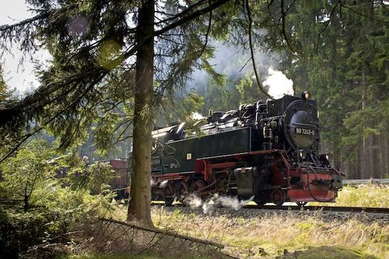 Jump on a steam train to shorten routes