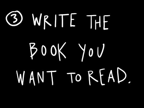 And make the story your life's story...