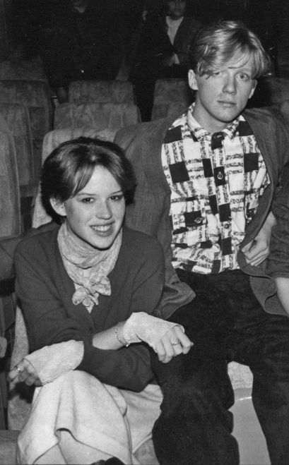 Molly ringwald, Anthony michael hall and Michael o'keefe ...