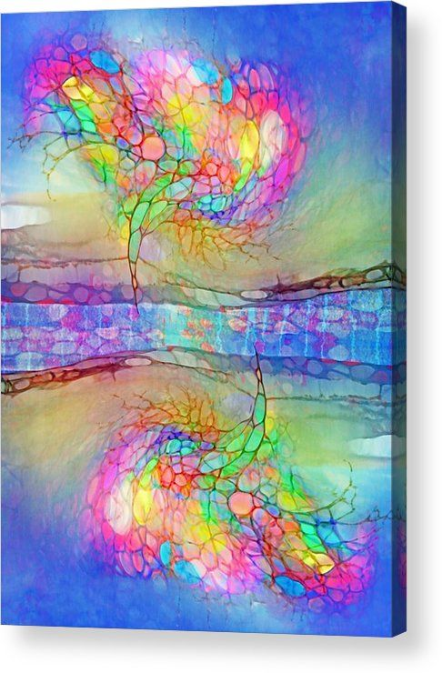 Dreaming In Colours Acrylic Print By Tara Turner Art Acrylic Prints Art Pages