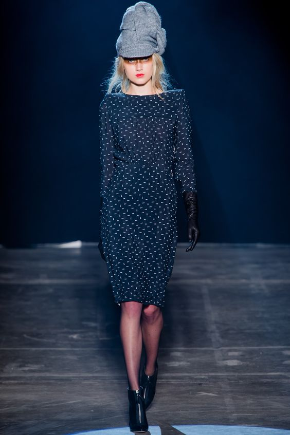 Band of Outsiders Fall 2013 Ready-to-Wear Fashion Show - MJ Johannsen