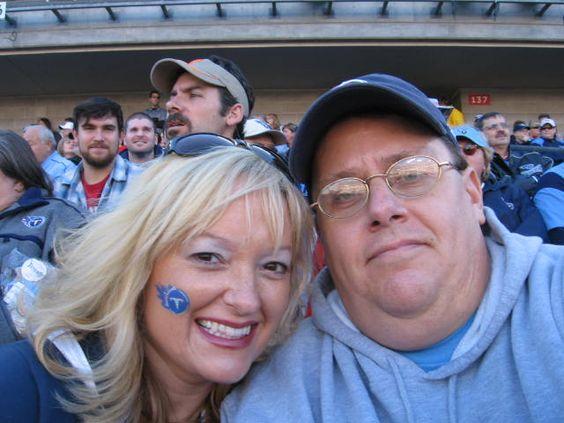 Tennessee Titans Game, Nashville TN