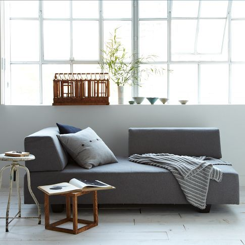 West elm sofas and contemporary sofa on pinterest West elm sofa bed