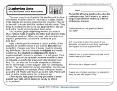 Printables Reading Comprehension Worksheets 8th Grade reading 3rd grade and comprehension on pinterest displaying data worksheet