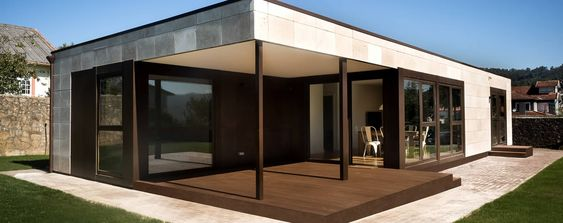 Casas prefabricadas interiores a coru a arquitectura - Casas prefabricadas a coruna ...