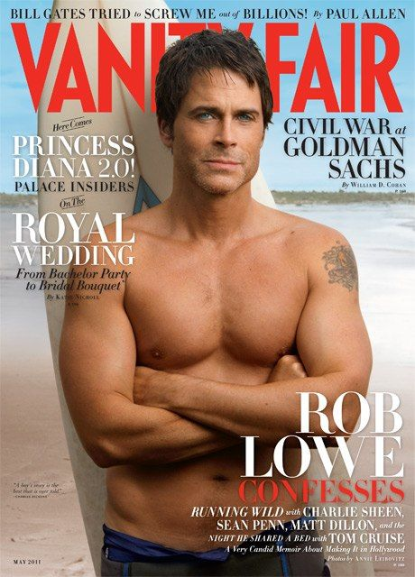 Rob Lowe! Still delicious after all these years