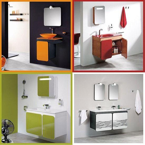 Baños Gabinetes Modernos:Muebles para Baños Modernos