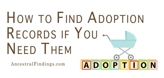 Were you or one of your ancestors adopted? Are you interested in finding out about the bio family or health history? These are some methods to use.