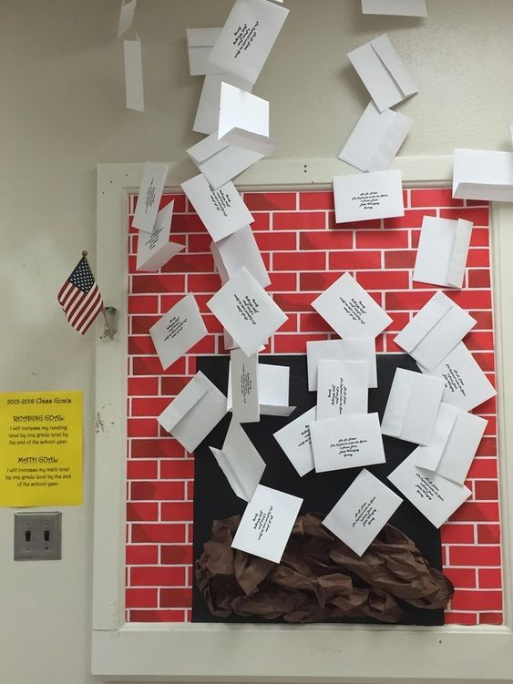 And when you entered the classroom, you received your official Hogwart's letter?   This Harry Potter Classroom Is Totally Magical