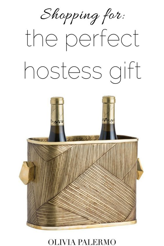These beautiful ice buckets--with a bottle, of course!--are an amazing way to say thank you.