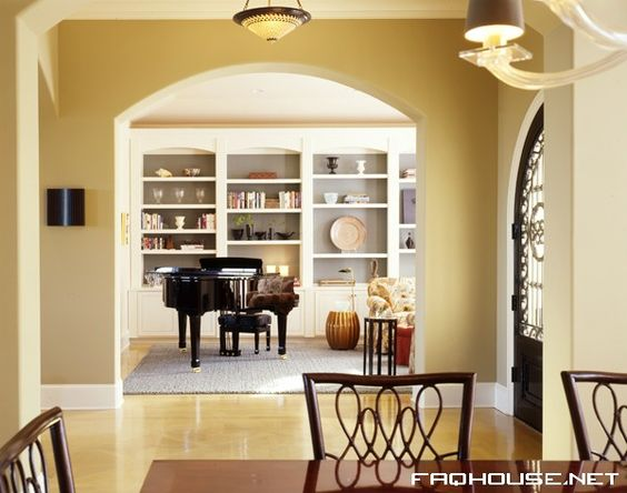 music room/ library room