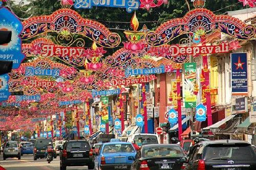 Lễ hôi Deepavali- lễ hội ánh sáng của Singapore