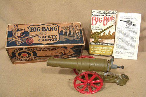 big-bang light field cannon | 9121: Vintage Circa. 1931 Big Bang Cannon No. 6F