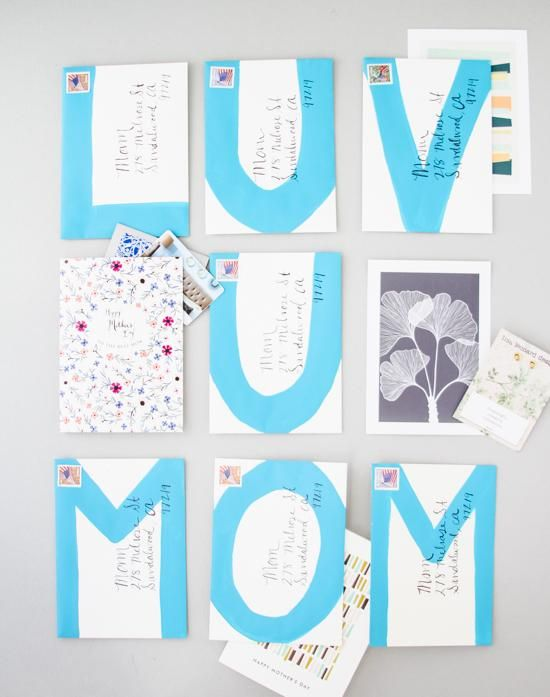 DIY Mother's Day : DIY  Mother's Day Message Mail
