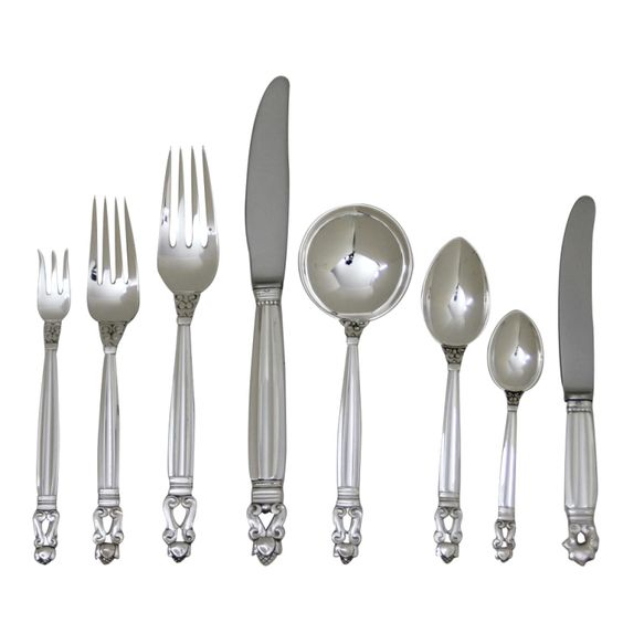 Flatware Dinnerware And Vintage Dinnerware On Pinterest
