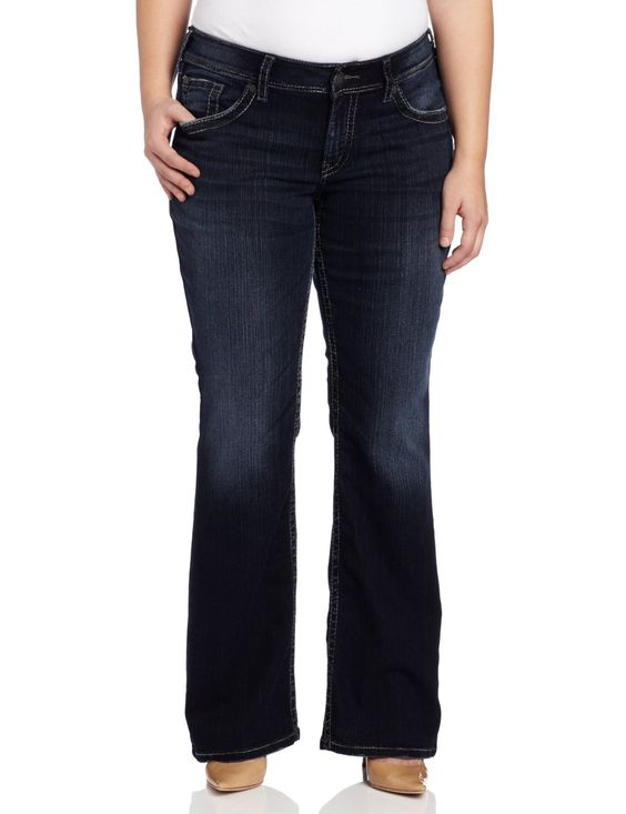 Silver Jeans Juniors Plus-Size Suki Surplus ($64.00) http://www ...