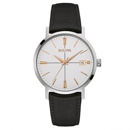 Reloj Bulova  Piel de becerro Modelo 98B254