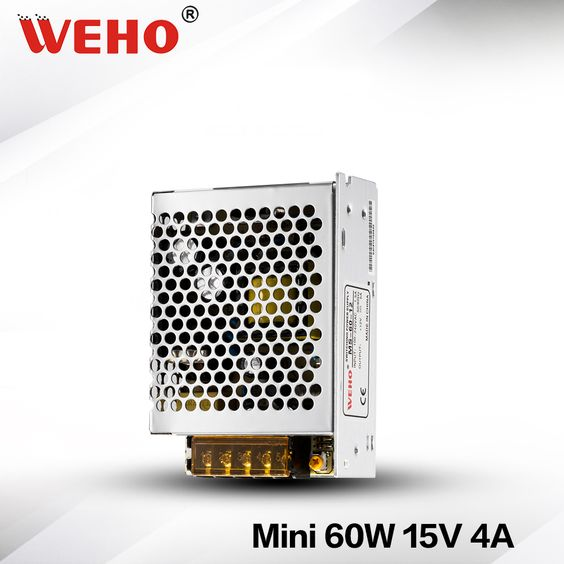 Ms 60 15 Mini Size 15v Output 60w Switching Power Supply 15v 60w Power Supply Led Led Power Supply Power Supply Led Drivers