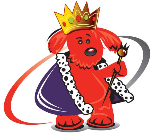 Image result for dog king clipart