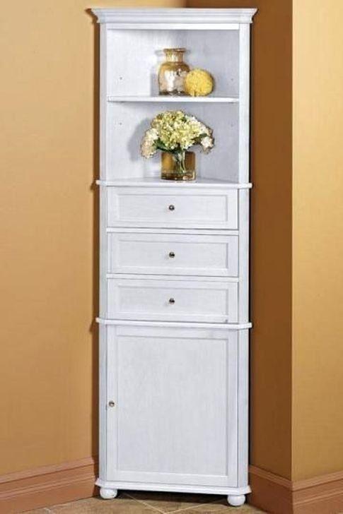 20 Gorgeous Corner Cabinet Storage Ideas For Your Kitchen Bathroom Floor Cabinets Corner Storage Cabinet Bathroom Corner Cabinet