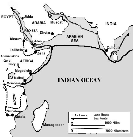 Indian ocean trade system