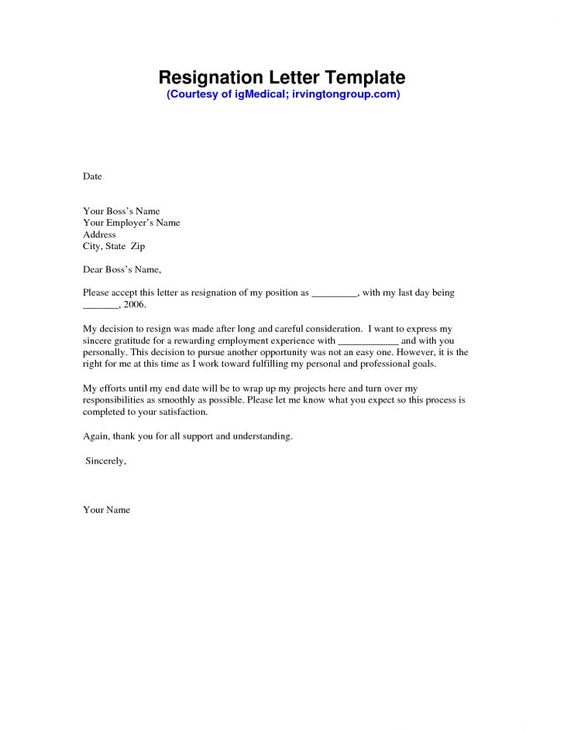 The 25+ best Resignation email sample ideas on Pinterest Sample - simple resignation letters