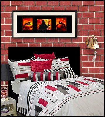 Diy Fireman Theme Bedroom Decor Firemen For Christian Pinterest Bedroom Boys Boy Rooms