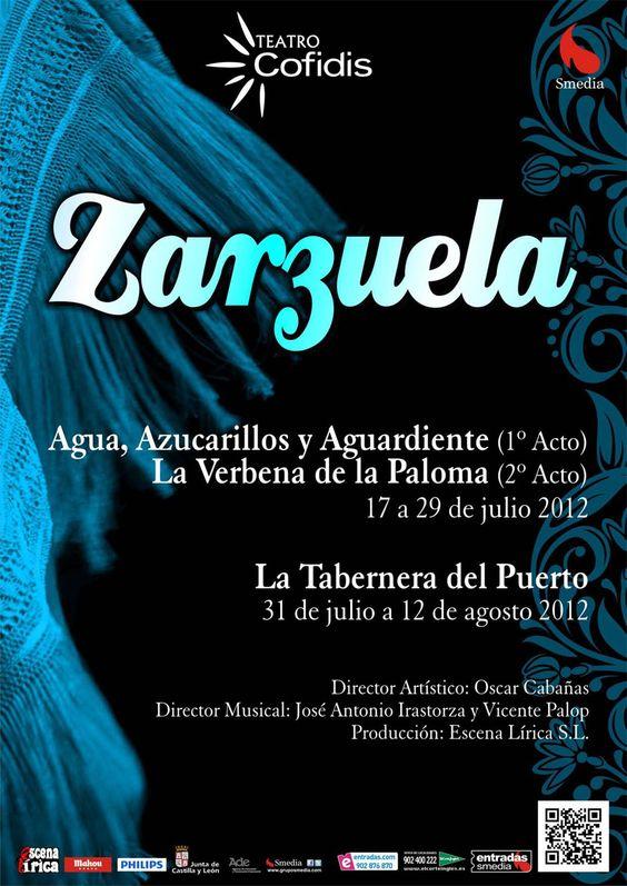El ciclo de Zarzuelas con La verbena de la paloma, agua, azucarillos y aguardiente. Pincha en la imagen para comprar las entradas.