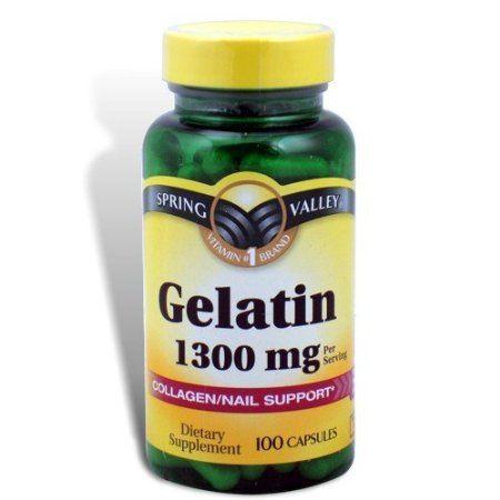 Gelatin vitamins