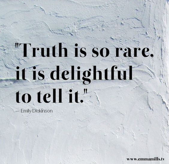 Truth! Emily Dickinson, Poetry, Inspiration